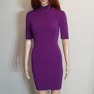 Bebe Purple Dress